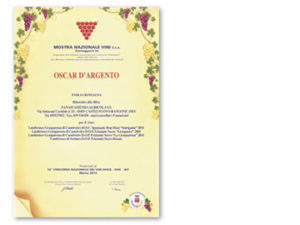 National Wine Show S.c.a. 2013 – Oscar d'argento
